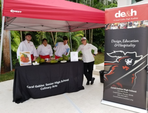 """Coral Gables Culinary Students Participate in """"Tour of Kitchens"""""""