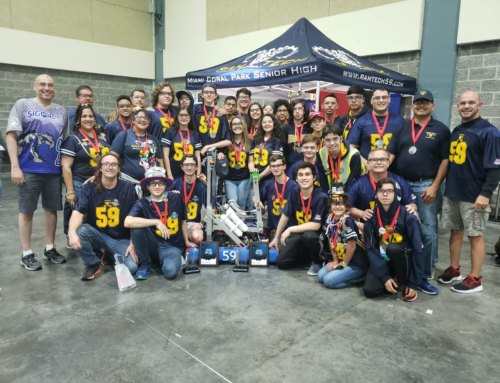 Miami Coral Park Ranks 7th in Robotics!