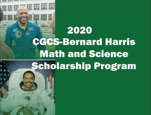 Apply now for the 2020 CGCS-Bernard Harris Math and Science Scholarship Program