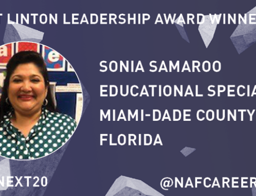 Congratulations to Sonia Samaroo!