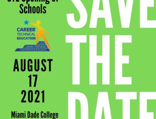 CTE Opening of Schools – August 17th